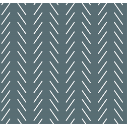 Seamless Arrows Pattern - Sample Kit-Reverse Slate Blue